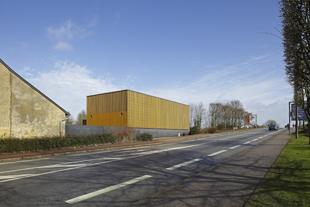 Construction centre conservation archéologique Soon Architectes
